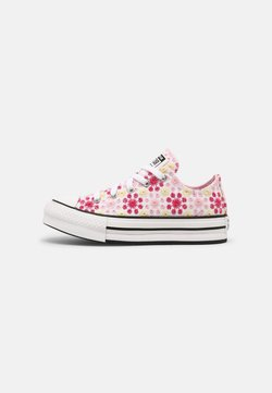 Converse - CHUCK TAYLOR ALL STAR EVA LIFT OX UNISEX - Sneakers laag - white/pink/black