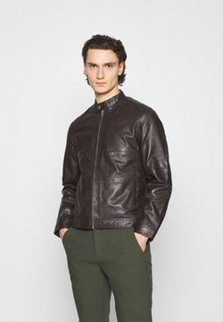 Matinique - MAADRON - Leren jas - dark brown