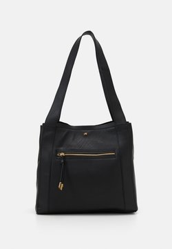 Anna Field - LEATHER - Handtasche - black