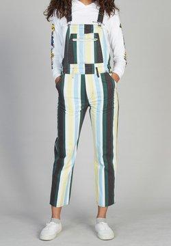 Quiksilver - Salopette - antique white og ver stripes