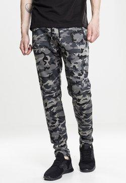Urban Classics - INTERLOCK   - Pantalones deportivos - dark camo