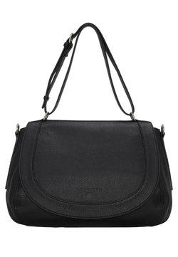 Liebeskind Berlin - DINARD CALAIS COCA MILLED - Handtasche - black