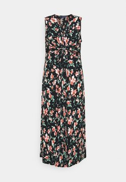 Anna Field Curvy - Maxi-jurk - black/pink/dark green