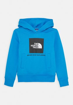 The North Face - NEW BOX CREW HOODIE UNISEX - Kapuzenpullover - clear lake blue