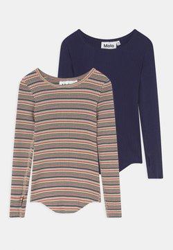 Molo - ROCHELLE 2 PACK - T-shirt à manches longues - multi/blue