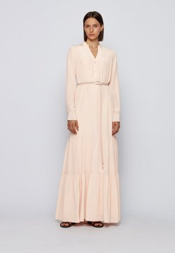 BOSS - Robe longue - light pink