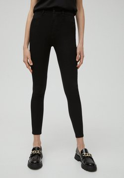 PULL&BEAR - SKINNY - Jeans Skinny - black
