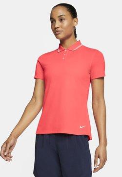 Nike Golf - DRY VICTORY - Funktionsshirt - laser crimson/white