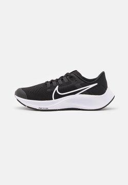 Nike Performance - AIR ZOOM PEGASUS 38 UNISEX - Löparskor för tävling - black/white/anthracite/volt