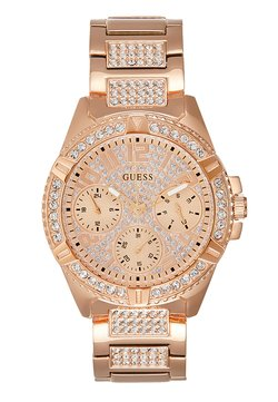 Guess - LADIES SPORT - Zegarek - rose gold-coloured