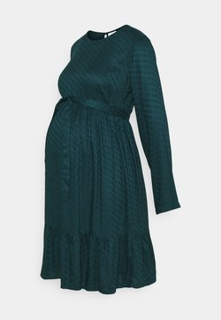 MAMALICIOUS - MLESSEY DRESS - Freizeitkleid - deep teal