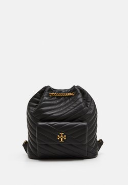 Tory Burch - KIRA CHEVRON DRAWSTRING BACKPACK - Reppu - black