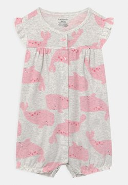 Carter's - SUR WHALE - Overall / Jumpsuit - grey/pink