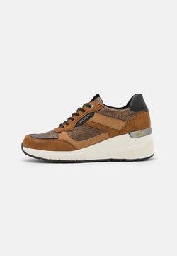 TOM TAILOR - Sneakers basse - brown