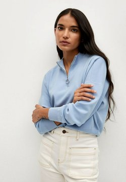 Mango - Sweater - bleu porcelaine