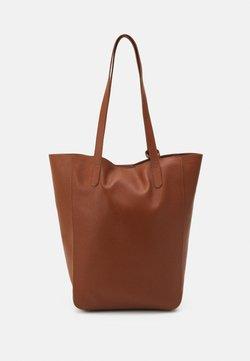Anna Field - SET - Shopping bag - cognac