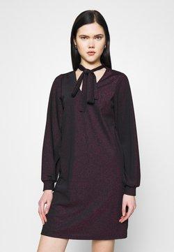 Vero Moda - VMJELINA SHORT DRESS  - Freizeitkleid - black