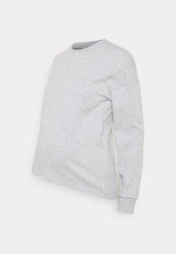 Anna Field MAMA - Sweatshirt - mottled light grey