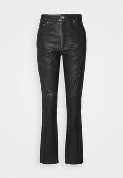Han Kjøbenhavn - Pantalon en cuir - black