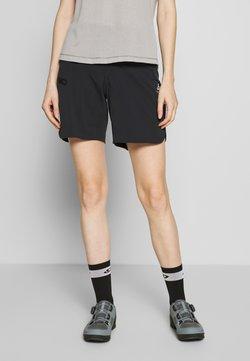 ODLO - SHORTS MILLENNIUM - kurze Sporthose - black