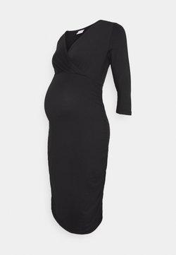 MAMALICIOUS - MLAIMY TESS DRESS - Trikoomekko - black