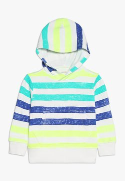 J.CREW - PAINTED STRIPES POPOVER HOODIE - Hoodie - off-white