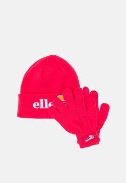Ellesse - VELLY BEANIE BUBB GLOVE PACK SET - Fingerhandschuh - pink