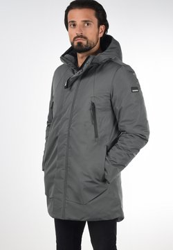 Solid - Parka - iron gate