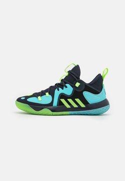 adidas Performance - HARDEN STEPBACK 2 BASKETBALL BOUNCE SHOES - Chaussures de basket - legend ink/signal green/pulse aqua