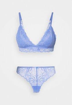 Cotton On Body - SUMMER LONGLINE BRALETTE  - String - cornflower lilac