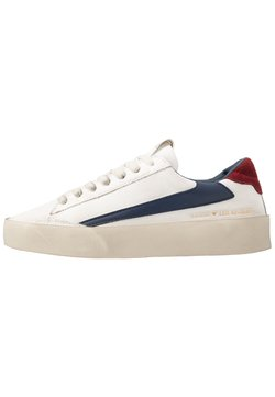 Guess - FIRENZE - Sneaker low - white/blue