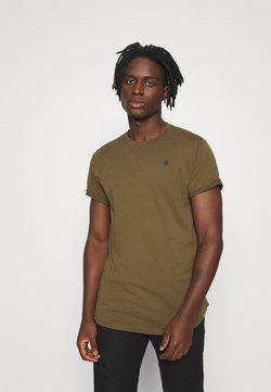 G-Star - LASH ROUND SHORT SLEEVE - Camiseta básica - wild olive