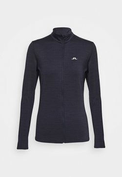 J.LINDEBERG - LAURYN FULL ZIP MID LAYER - Veste polaire - navy melange