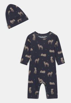Name it - NBMLINUS SET - Pijama - dark sapphire