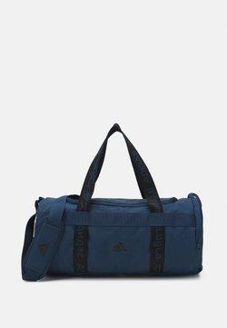 adidas Performance - ESSENTIALS 3 STRIPES SPORT DUFFEL BAG UNISEX - Sports bag - crew navy/black