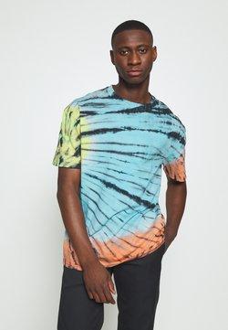 Urban Classics - TIE DYE OVERSIZED TEE - T-shirts print - black