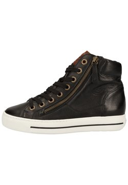 Paul Green - Sneaker high - schwarz/mittelbraun 027