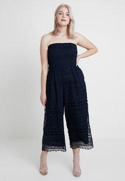 City Chic - EXCLUSIVE APPLIQUE - Jumpsuit - french navy