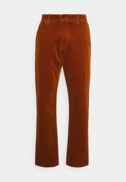 Carhartt WIP - MENSON PANT BARRINGTON - Pantalon classique - brandy rinsed