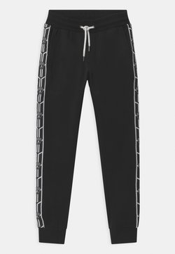 Automobili Lamborghini Kidswear - SHIELD TAPE - Trainingsbroek - black pegaso