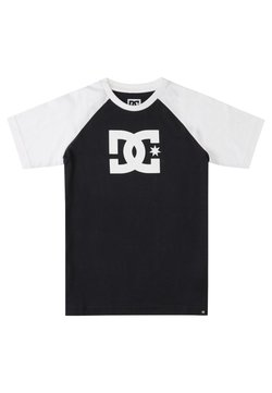 DC Shoes - T-shirt print - black/white