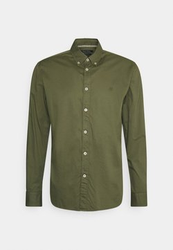 Marc O'Polo - BUTTON DOWN LONG SLEEVE INSERTED - Hemd - aged oak
