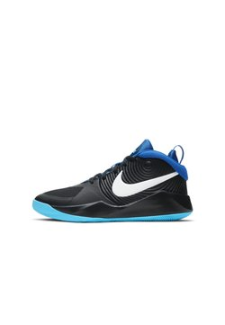 Nike Performance - TEAM HUSTLE D 9 UNISEX - Zapatillas de baloncesto - black/game royal/baltic blue/white