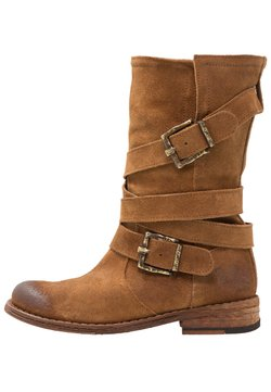 Felmini - GREDO - Cowboy-/Bikerlaarzen - brown