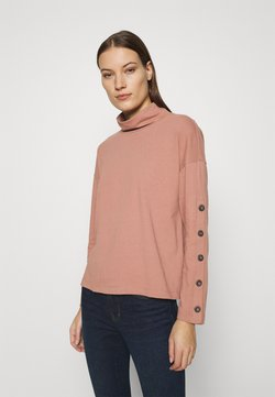 Madewell - TIMES SQUARE TURTLENECK - Sweatshirt - faded rosebud