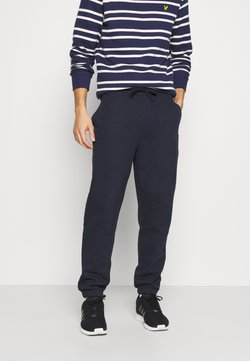 Lyle & Scott - DOUBLE BRUSH TRACK PANT - Jogginghose - dark navy