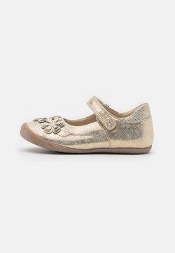 Froddo - ANA - Ballerinat nilkkaremmillä - gold