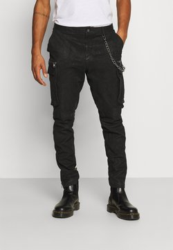 Tigha - ENRIQUE - Pantalon en cuir - black