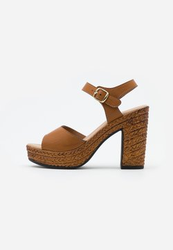 Tata Italia - Sandalen met hoge hak - brown
