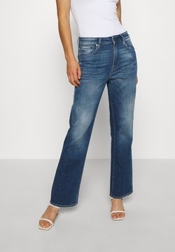 G-Star - CODAM HIGH KICK FLARE 7\8 WMN - Flared Jeans - faded cobalt